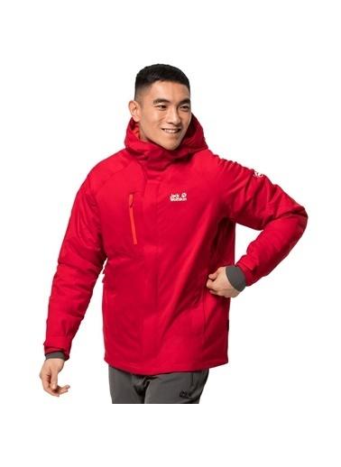 Jack Wolfskin Olfskin Troposphere Jacket M Erkek Ceket Kırmızı